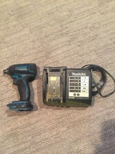 Makita 18V impact and charger