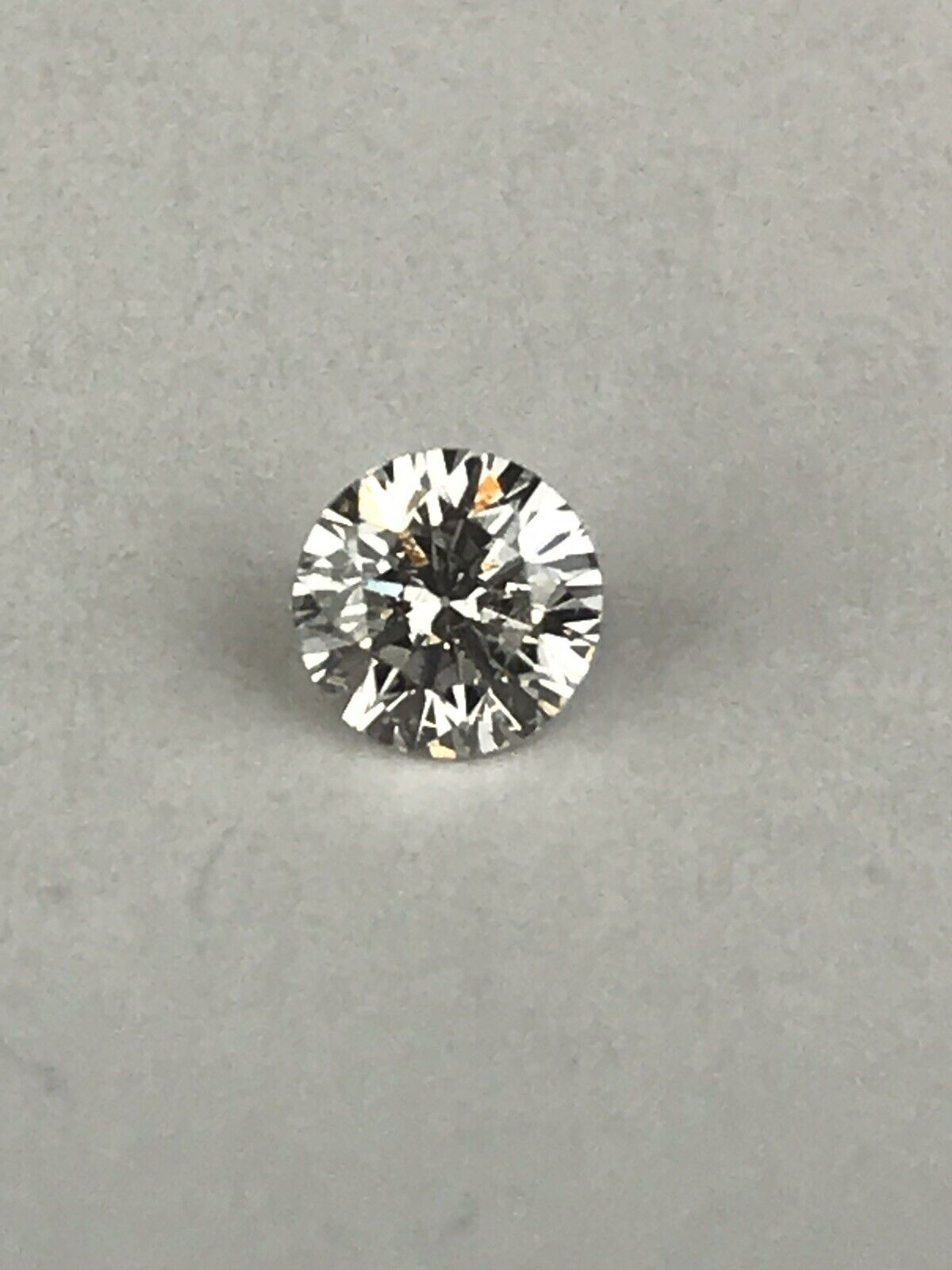GIA Loose Certified .43 ct G I1 Round Brilliant Natural Diamond (stock #R12)