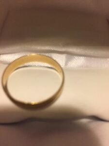 Wedding Band 14k Gold