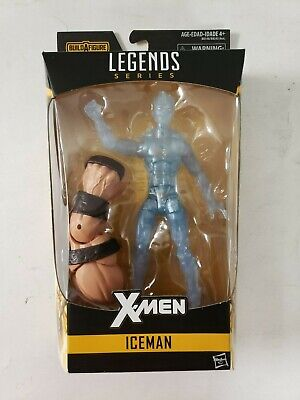 "Marvcel Legends X-Men 6"" ICEMAN Juggernaut Wave Hasbro New Sealed"