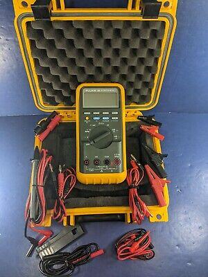 Fluke 88 Automotive Meter Excellent Condition Case Screen Protector Rpm