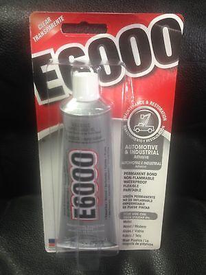 E6000 INDUSTRIAL STRENGTH CLEAR GLUE CRAFT  ADHESIVE 3.7 OZ(gl600)6/18](E Craft)
