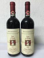 2 Bottiglie Machiavelli Vigna Di Fontalle 1987 - 1986 Chianti Classico -  - ebay.it
