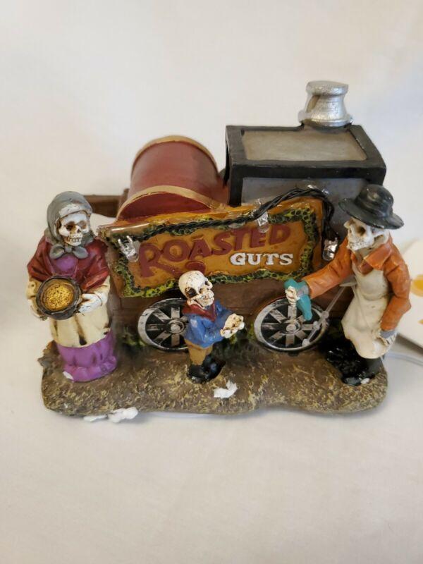 """Lemax/Pumpkin Hollow, Street Shop, """"Roasted Guts"""", NEW"""