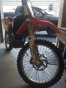 KTM sxf 350 Woods Bike