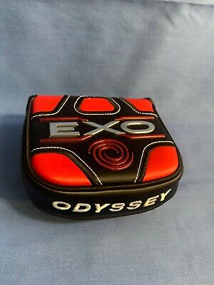 Odyssey EXO Square Mallet Putter Headcover Golf Head Cover (Excelent (Square Head Shape)