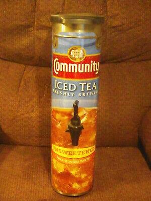2x Bunn Tdo-n-3.5 Narrow Iced Tea Dispenser 3.5 Gallon