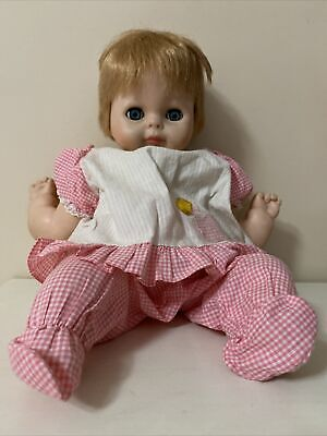 vintage baby doll 1960's Made By Vogue dolls, Inc.  USA