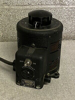 Vintage Powerstat Variable Transformer Type 116