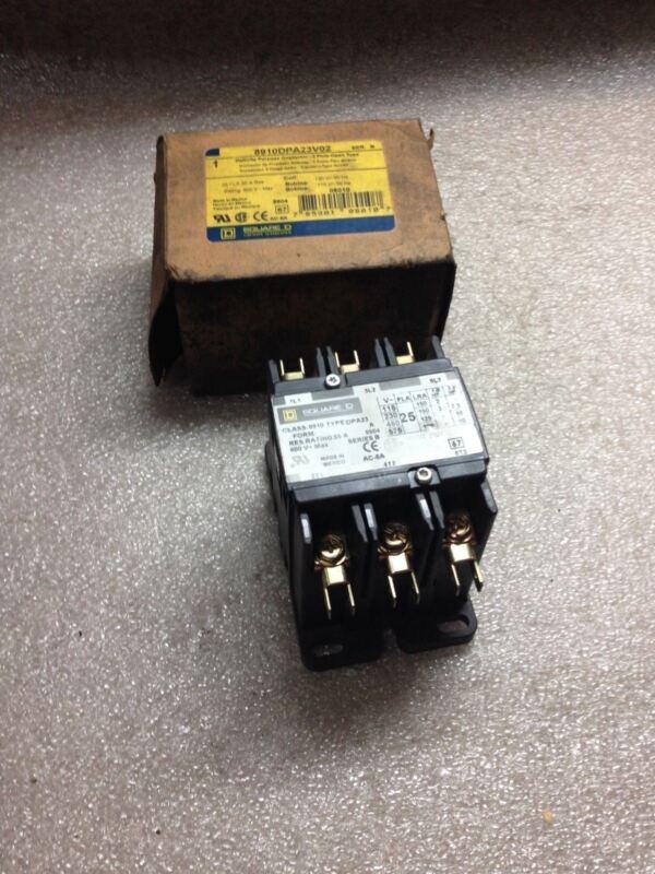 (RR25) SQUARE D 8910DPA23V02 CONTACTOR