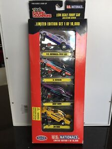Racing Champions Funny Cars 1/64. Die cast
