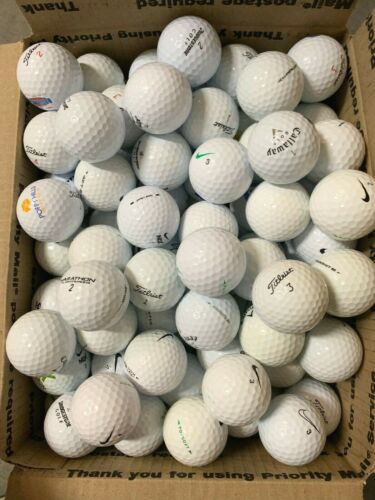 50,100,200,400 AAAAA Used Golf Balls Mint Condition Choose Quality & Quantity