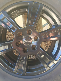16×8 inch roh mag wheels
