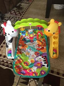 Fisher Price Toys for Baby - Play Mat and Walker