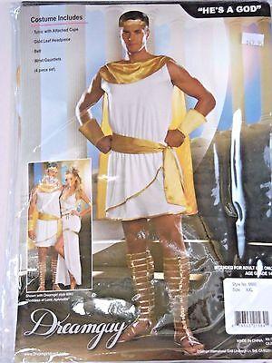 Immortal Masks (Size  XXL Ancient Greek God Tunic Costume Cosplay Halloween Sexy)