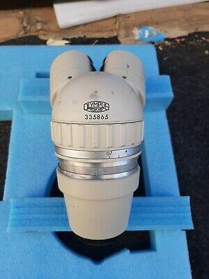 Olympus Tokyo Microscope Head Unit With Eye Pieces