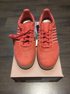 Adidas Oyster Holdings 350 Scarlet Red Sneakers Sz 6 Clear New DB1975 7.5
