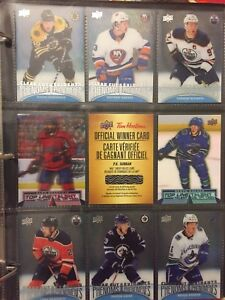Tim Hortons hockey cards 2018-2019