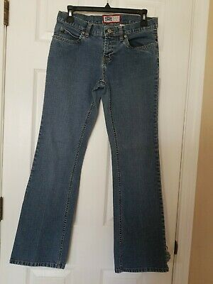Old Navy Womens Jeans Blue Mid Rise MEDIUM Wash The Best In Denim Size