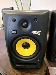2 Krk Rokit 6 monitors Hillbank Playford Area Preview