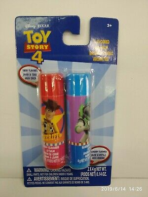 DISNEY TOY STORY GIRL 2 PIECES LIP BALM COSMETIC 100% ORIGINAL MUST L@@K (Girl Toy Story)