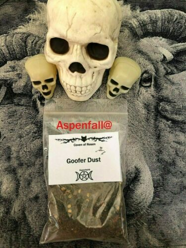 3 oz Goofer Dust Powder, Witchcraft Voodoo Hoodoo Santeria  ~ Hexing, Banish