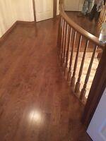 Hardwood and Laminate flooring installer