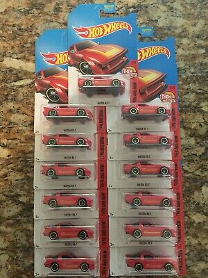 2019 Blowout! Mazda RX-7 * RED Kmart * 2017 Hot Wheels * Lot Of 13