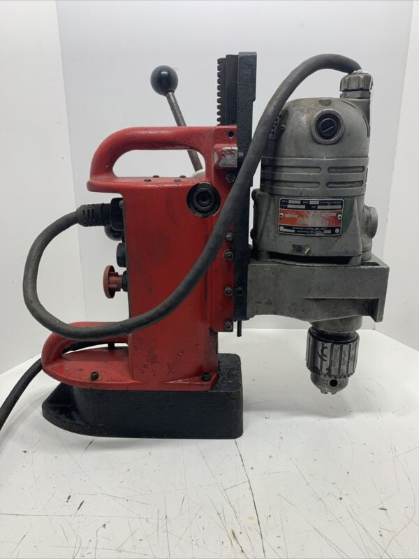 """Milwaukee Mag Magnetic Drill Press 4203 base with 4262-1 motor (3/4"""" capacity)"""