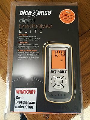 Alcosense Digital Breathalyser