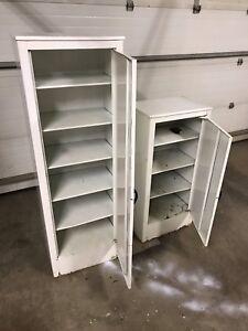 Steel Cabinets (Vintage Hospital medicine Cabinets)