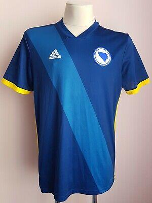 Bosnia and Herzegovina2017 - 2018 Home football Adidas shirtsize L image