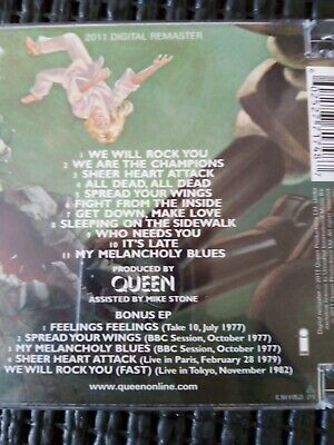 Queen - News of the world 2011 Remastered 2 CD Set- (bonus disc) - Excellent