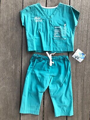 Baby Scrubs Set Personalization Green Spanish Newborn Gift Novelty