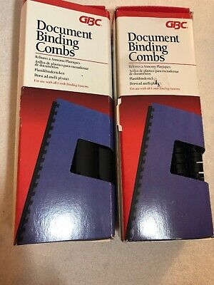 Gbc Document Binding Combs 4290010