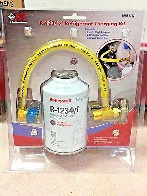 R-1234YF R1234yf Honeywell, 8 oz Solstice® yf Refrigerant Recharge Kit, FJC  703