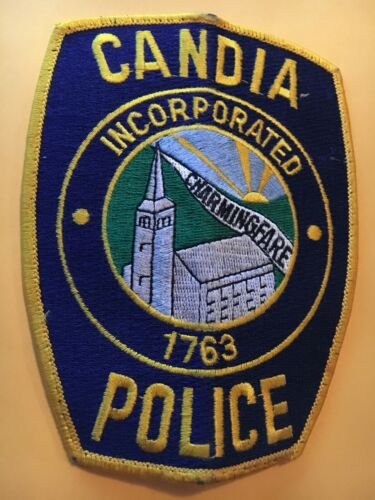 Candia New Hampshire Police Patch