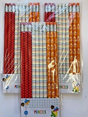 Fall Themed Parties (30 (3 packs /10) Fall themed Pencils Classroom Reward Party Favor)