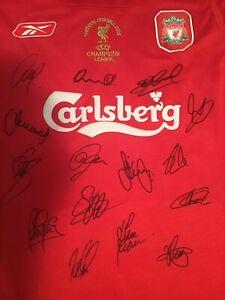 a6f5fb856 Liverpool signed jersey 2006 w COA