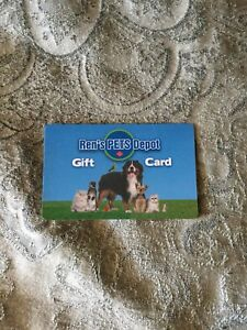REN's pet depot gift card