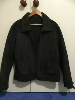 Mens Brown Suede Jacket size M Leeming Melville Area Preview
