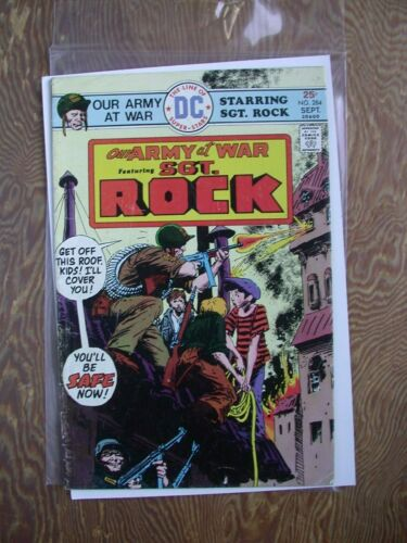 Our Army at War  #284  VG-FN  DC