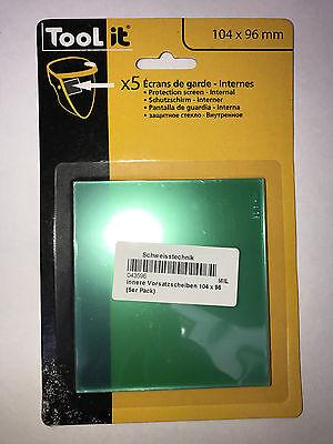 Standard-lcd (5 Stück GYS Vorsatzscheibe innen Standard LCD ERGOTECH 5-9)