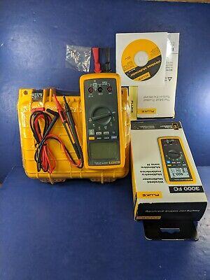 New Fluke 3000fc Wireless Multimeter Original Box Case Screen Protector More