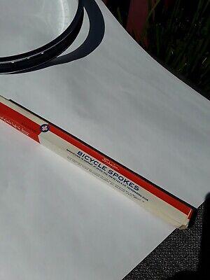 """NOS Vintage .080 14g 10 1//4/"""" spoke spokes 260mm bicycle bike schwinn S2 set"""