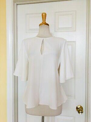 ZARA white blouse top size M