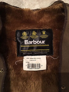 Barbour lining