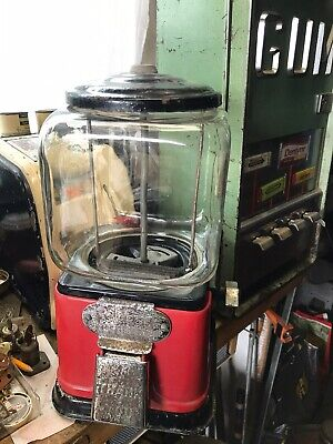 1940's Victor Model K  Sidewinder  Penny Vending Machine Hard to Find Machine