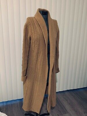 Ann Taylor Loft Coat Sweater, Camel color size Medium