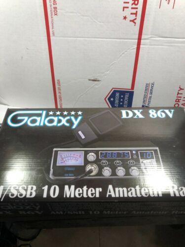 GALAXY DX 86 V RADIO ALIGNED & TUNED FOR OPTIMUM PERFORMANCE !!!